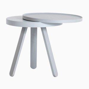 Tavolino con vassoio Batea grigio di Daniel García Sánchez per WOODENDOT