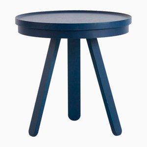 Petite Table Plateau Batea Bleue par Daniel García Sánchez pour WOODENDOT