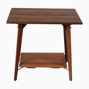 Solid Teak Plant Table, 1960s