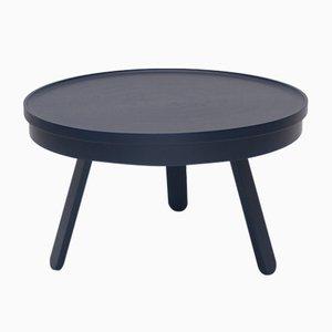 Tavolino da caffè medio Batea blu con scomparto di Daniel García Sánchez per WOODENDOT