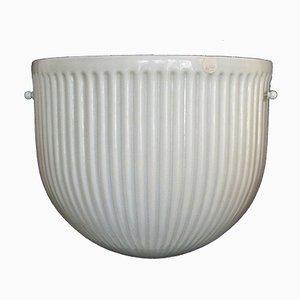 Lámpara de pared de Flavio Poli para Serguso, años 60
