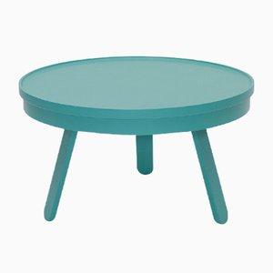 Tavolino da caffè medio Batea verde con scomparto di Daniel García Sánchez per WOODENDOT