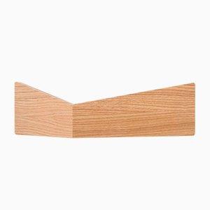 Kleines Pelican Regal aus Eichenholz mit versteckten Haken von Daniel García Sánchez für WOODENDOT
