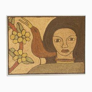 Französische Wanddekoration aus Seil von Luis, 1970er