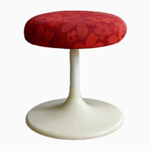 Vintage Stool with Tulip Base