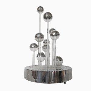 Lámpara escultural Kinetic, años 70