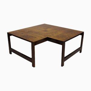 Table Basse Moduline par Ole Gjerløv-Knudsen et Torben Lind pour France & Søn, 1960s
