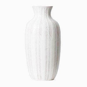 Vaso da terra in ceramica di Anna-Lisa Thomson per Upsala Ekeby, anni '50