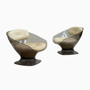 Lounge Chairs by Raphael Raffel, 1965, Set of 2