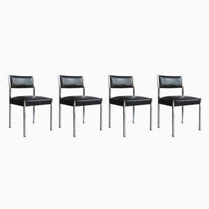 Modell Roma Stühle von Pierre Guariche für Meurop, 1960er, 4er Set