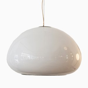 Vintage Black & White Pendant by Castiglioni Brothers for Flos
