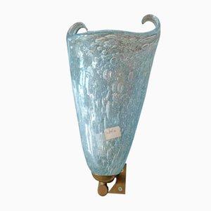 Murano Glas Wandleuchte von Avem, 1950er