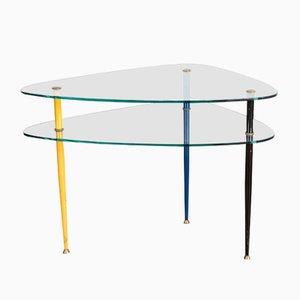 Tavolino Arlecchino di Edoardo Paoli per Vitrex, anni '50