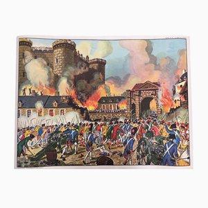 Affiche Bastille de MDI, 1960s