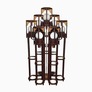 Belgische Stehlampe, 1970er