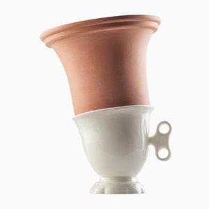 #01 Mini HYBRID Vase in Weiß von Tal Batit