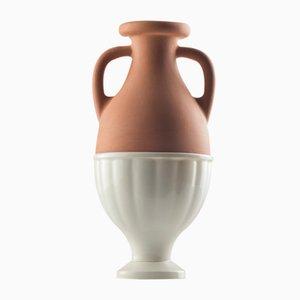 #04 Mini HYBRID Vase in Weiß von Tal Batit