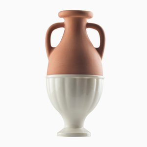 #04 Mini HYBRID Vase in White by Tal Batit