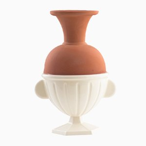 #05 Mini HYBRID Vase in White by Tal Batit
