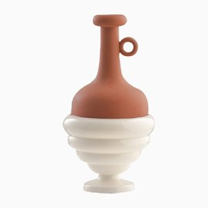 #06 Mini HYBRID Vase in White by Tal Batit