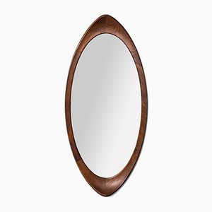 Teak Mirror from Glas & Trä Hovmantorp, 1950s