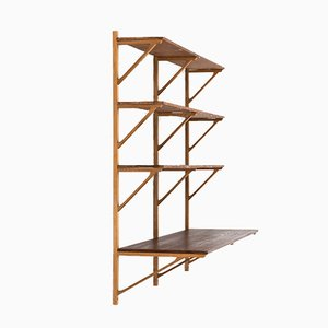 Model 291 Bookcase by Børge Mogensen for Fredericia, 1958