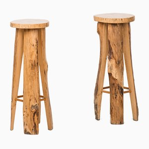 Swedish Bar Stools by Sigvard Nilsson for Söwe, 1960s, Set of 6