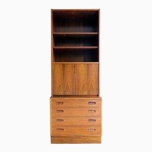 Mueble de palisandro del Brasil de Hundevad & Co., años 60