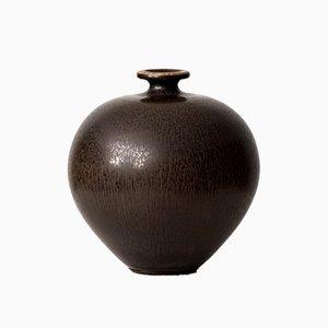 Vaso in ceramica di Berndt Friberg per Gustavsberg, 1975