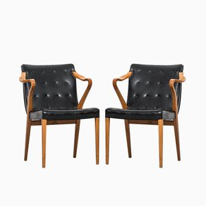 Model 1522 Armchairs by Axel Larsson for Bodafors, 1961, Set of 2