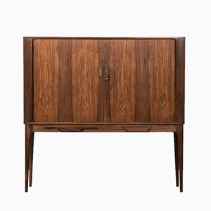 Rosewood Bar Cabinet by Kurt Østervig for K.P Møbler, 1960s
