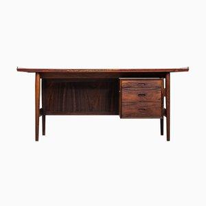 Modell 205 Palisander Schreibtisch von Arne Vodder für Sibast, 1960er