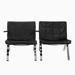 Model 1600 Eurochairs by Hans Eichenberger for Girsberger, 1966, Set of 2