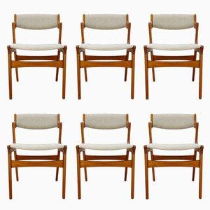 Esszimmerstühle von Nova, 1960er, 6er Set