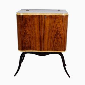 Mueble bar móvil italiano, años 40