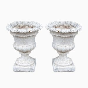 Portuguese Stone Urns, 1950s, Set of 2