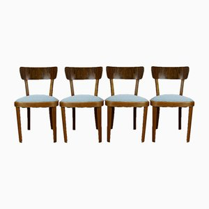 Polish Art Deco Chairs, Set of 4