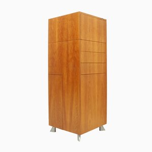 Dutch Cherrywood De Cube Transformable Secretaire by Arend van Ast for Laurens Westhoff, 1998