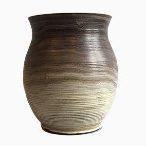 Jarrón grande de cerámica de Hildegard Delius para Hamelner Töpferei, años 30