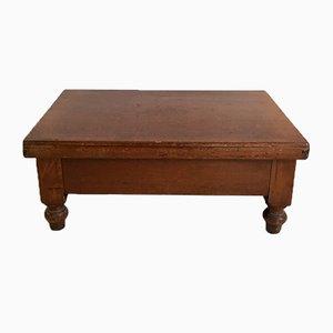 Caja o mesa francesa antigua
