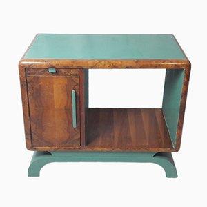 Mueble bajo Art Déco de brezo, años 40