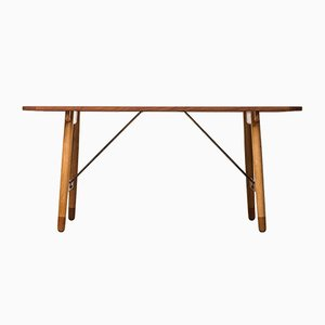 Hunting or Dining Table by Børge Mogensen for Søborg Møbler, 1950s