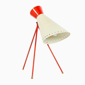 Tripod Table Lamp by Josef Hurka for Napako, 1950s