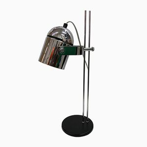Vintage Chrome-Plated Table Lamp