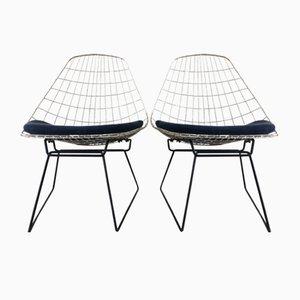 Beistellstühle von Cees Braakman für Pastoe, 1950er, 2er Set