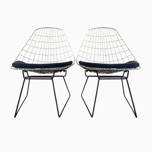 Chaises d'Appoint par Cees Braakman pour Pastoe, 1950s, Set de 2