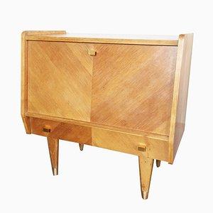 Mueble bajo vintage pequeño con puerta abatible