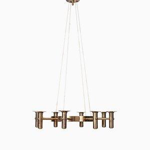 Lámpara de araña Mid-Century de Hans-Agne Jakobsson