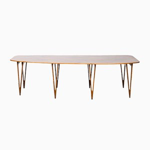 Table Vintage par Børge Mogensen pour Erhard Rasmussen