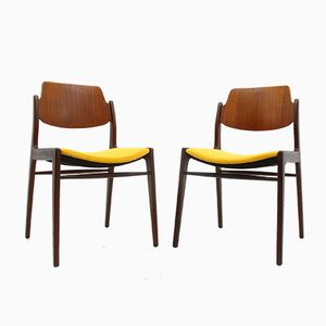 Chairs by H. Lohmeyer for Wilkhahn, 1960s, Set of 2